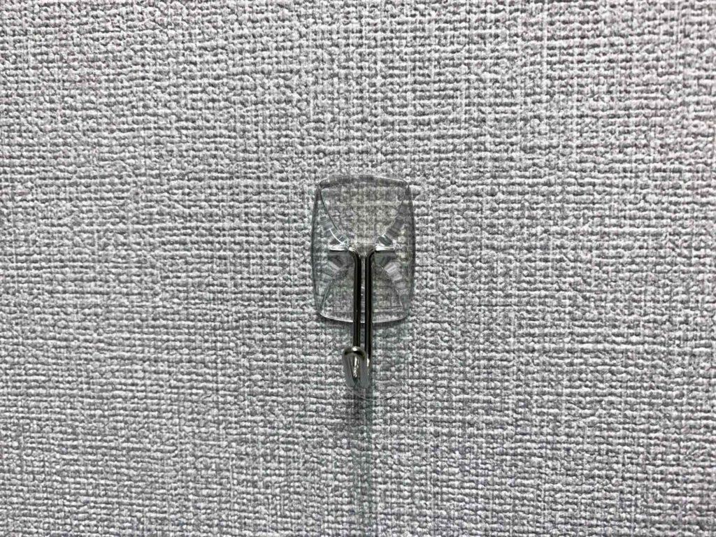 壁紙にも貼れる3Mコマンドのフック