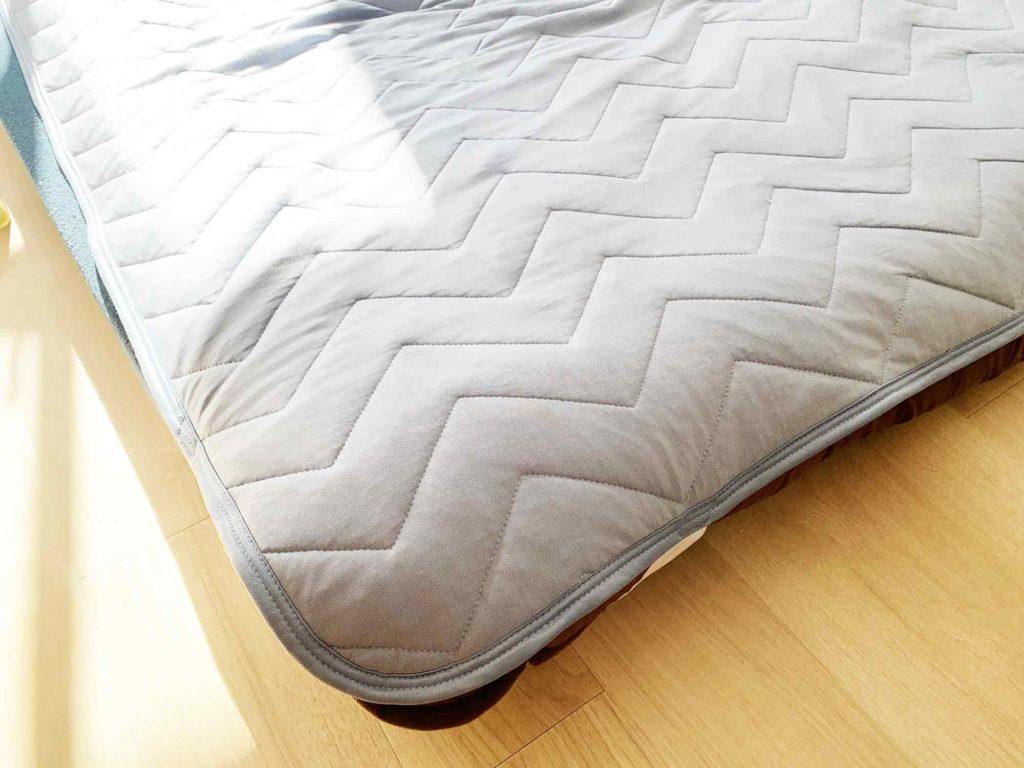 夏の眠れない暑さを和らげる冷感敷きパッド