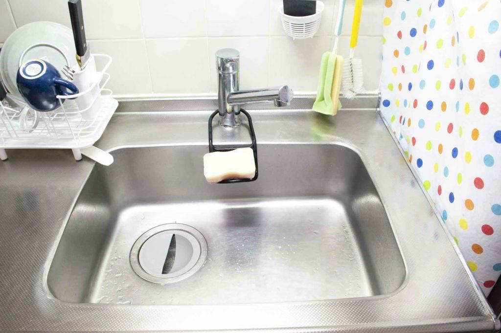 都内1LDKマンションの一般的なキッチン洗い場