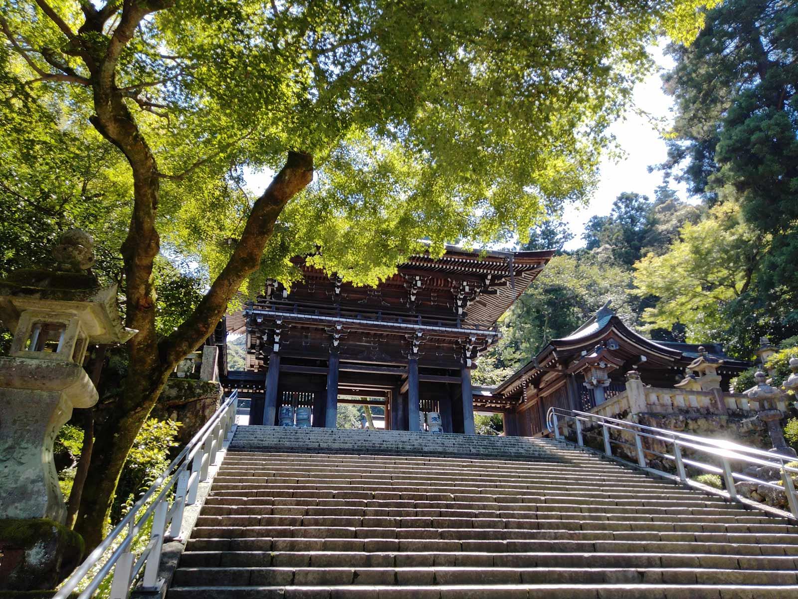 岐阜のパワースポットで自然を味わえる場所と言えば伊奈波神社